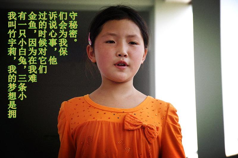 小学生的梦想(一)-关注灾后芦山,实现心中梦想
